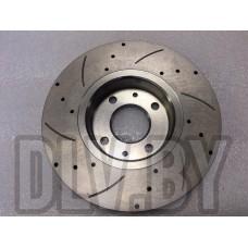 Диски тормозные передние перфорированные ASP LADA Vesta / Largus (16 клапанный) / XRAY
