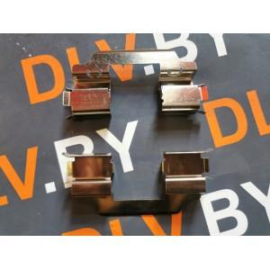 Комплект пружин колодок переднего тормоза
